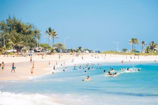 ハワイ絶景ビーチを巡る