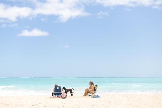 ハワイ・オアフ島の隠れ家ビーチ