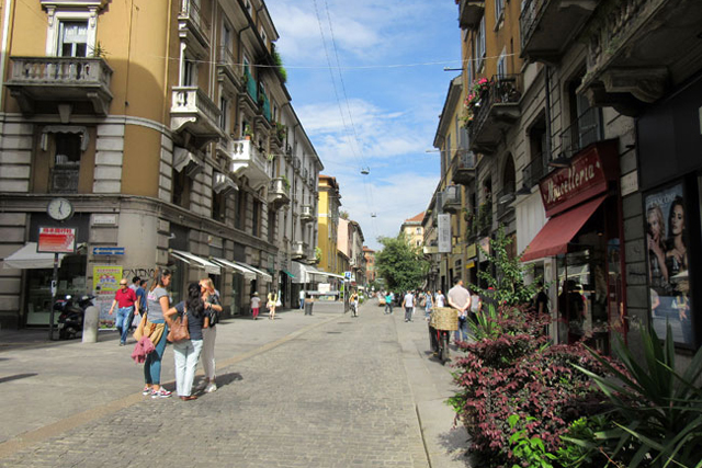 ミラノのチャイナタウン進化中!