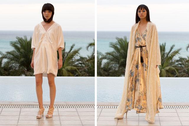 自然と伝統の中から生まれる服の新しさ