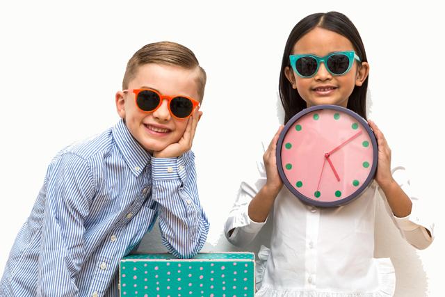 イタリアおしゃれキッズのサングラス