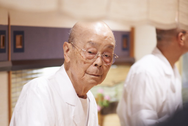 「すきやばし次郎」91歳のすし職人の仕事