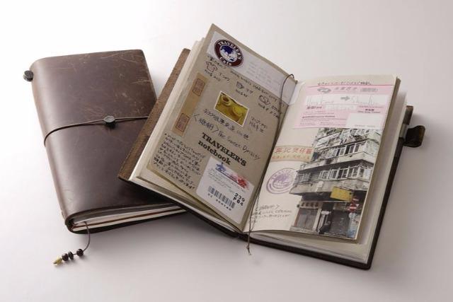 使うほど味が出る旅のノート、プレゼント〈PR〉