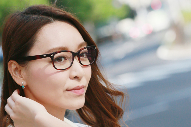 目にもUVケアが必要 UV420!透明レンズのサングラス