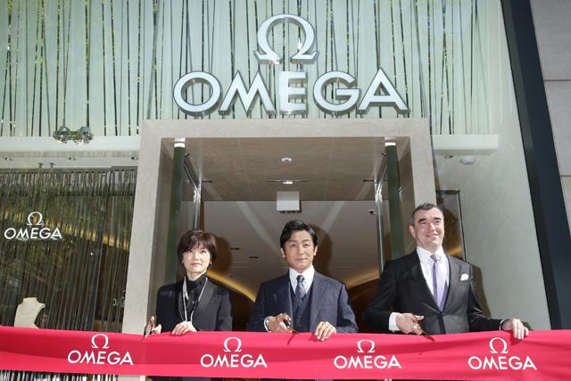 片岡愛之助「歌舞伎とオメガは似ている」 心斎橋でリニューアルオープン