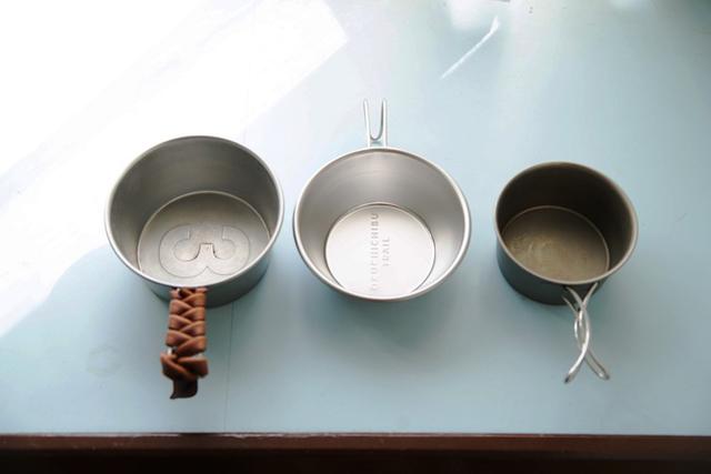 <5>山でも街でも万能なキッチンウエア、「シェラカップ&ロッキーカップ」