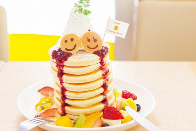 東京カフェ<3>おいしいのは当たり前! 絶景パンケーキを狙え!