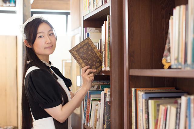 <42>「好き!」を究める楽しさを メイドたちの私設図書館