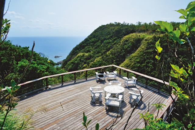 沖縄カフェ<3>発見! 秘境カフェ ~ペンション&カフェテラス「たちがあ」