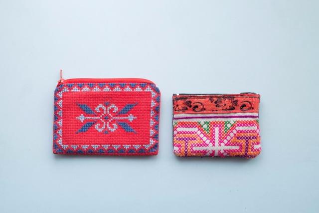 <32>山の財布は自由でいい。「民芸品の小物入れ」