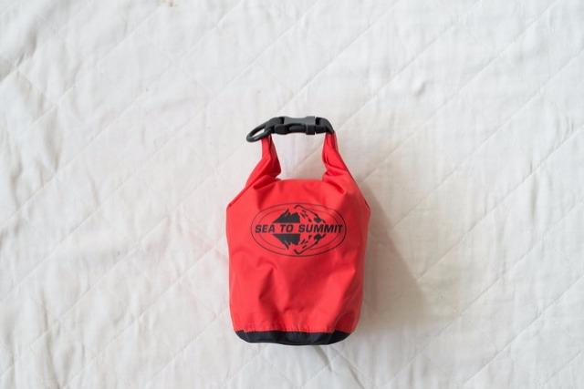 <37>山のお守り袋「シートゥサミットのスタッフバッグ」