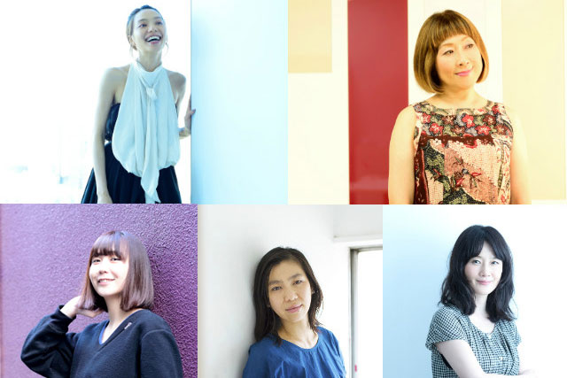 女性アーティストたちが通ってきた五つの道