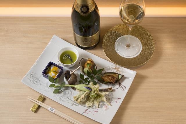 珠玉のシャンパーニュが奏でる日本料理との妙