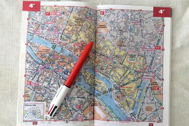 <13>地図を片手にパリ散歩