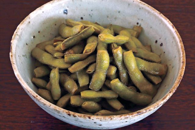 関東の昔の味? 枝豆の甘辛煮
