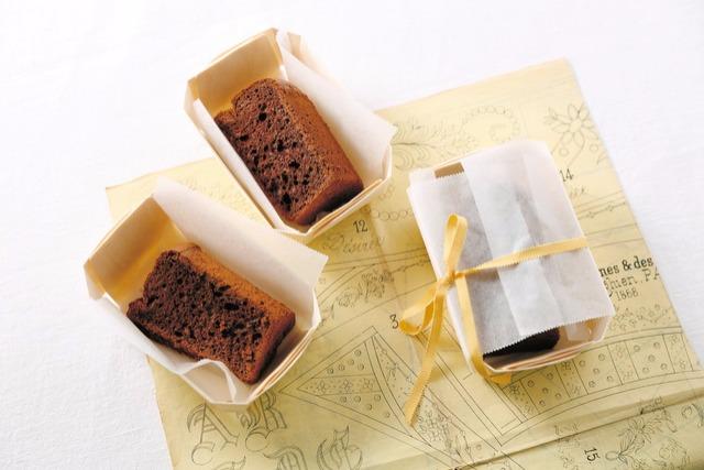 <4>チョコバナナ・シフォンケーキ