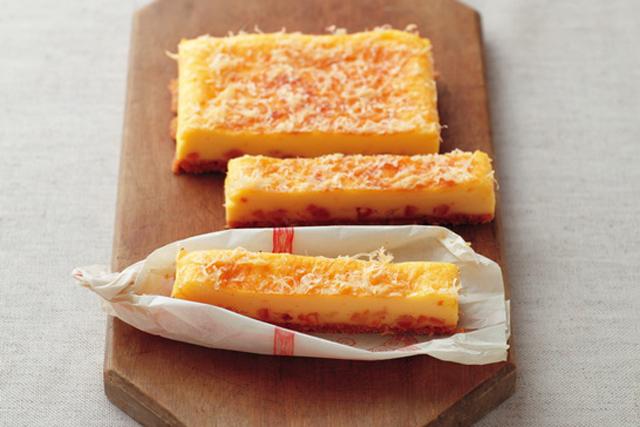 <2>オレンジスティックチーズケーキ