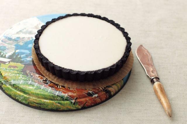 <4>ブラックミルキーレアチーズケーキ