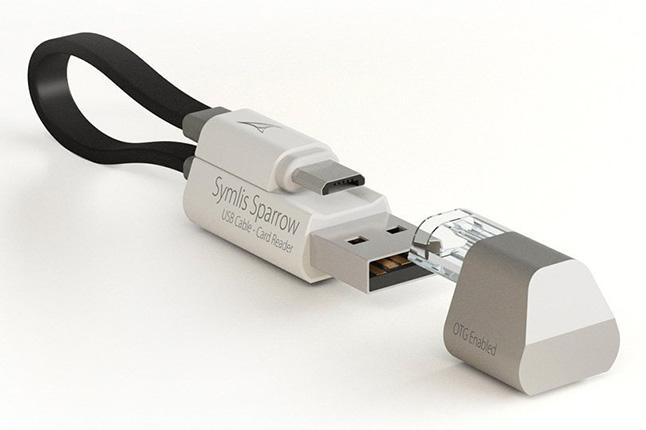 便利なメモリ一体型充電ケーブル