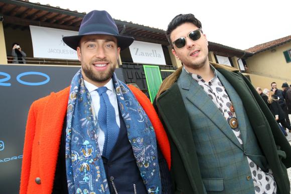 第91回「ピッティ・イマージネ・ウオモ」会場で見かけたお洒落な紳士たち