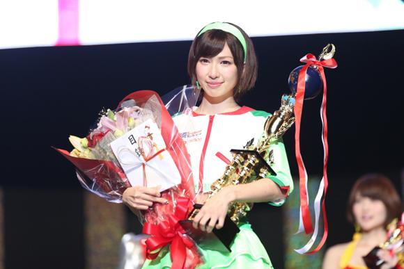 日本レースクイーン大賞グランプリに清瀬まちさん