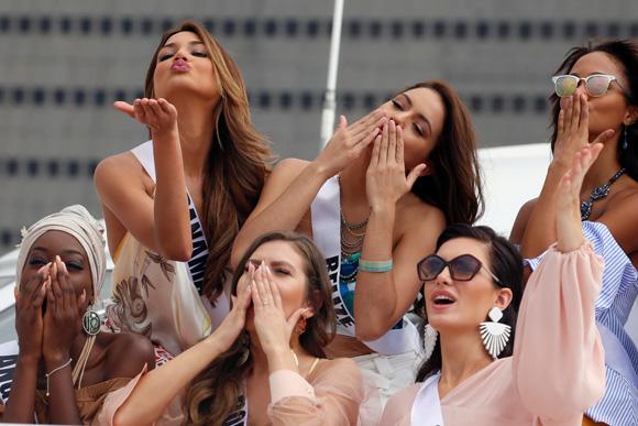 ミス・ユニバース2017 86名、美の競演
