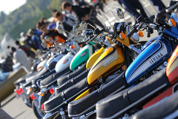 8年ぶりの開催「ヤマハ歴史車両デモ走行会・見学会」