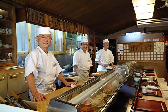 丁寧な仕事が光る人形町 「㐂寿司」へ
