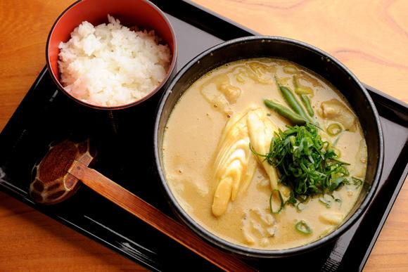 牛乳とバナナ入りスープのカレーうどん 加藤貴子さん