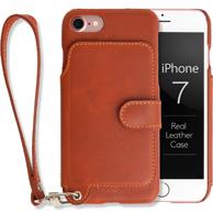 ラクニ iPhone7用背面ポケット型ケース