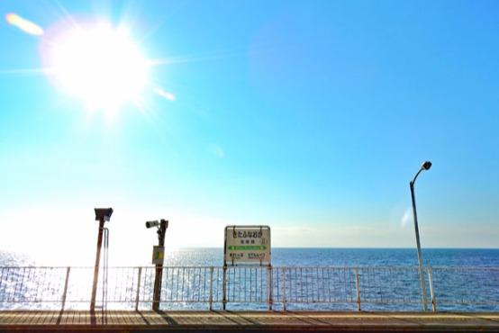 電車に揺られ海辺の無人駅へ「海駅図鑑 海の見える無人駅」