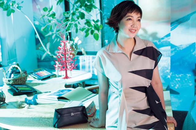 森本千絵さん「服は大事なスイッチですね」