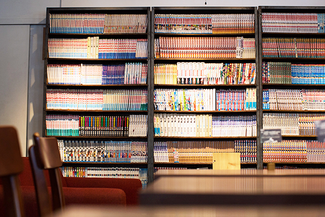 蔵書2千冊 日当たり良好のマンガ天国