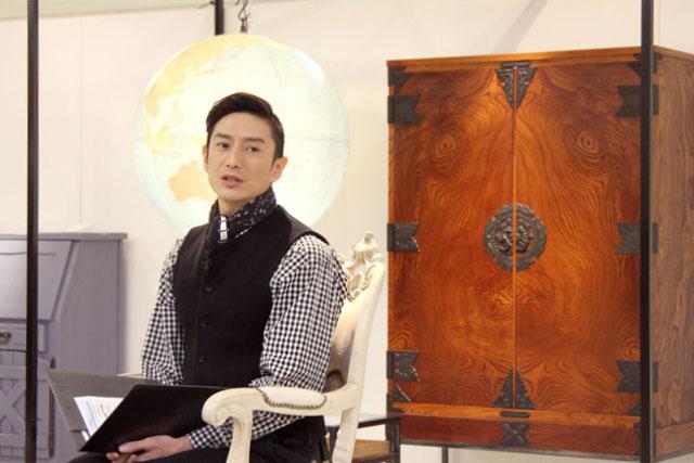 伊勢谷友介「中古家具に新たな価値を」