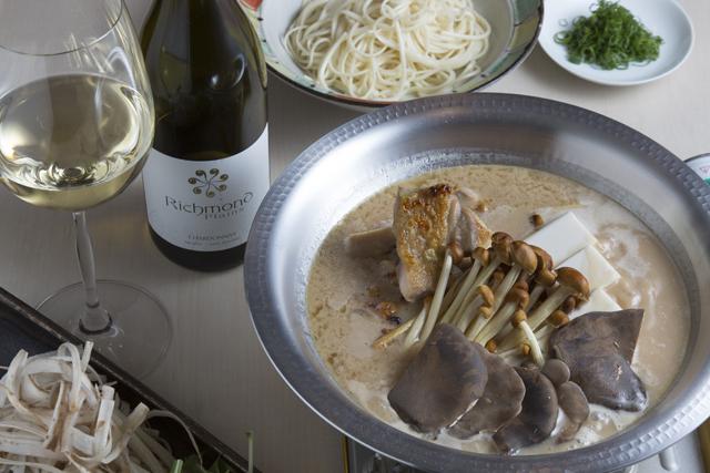和食の職人がつむぐ酒粕豆乳鍋