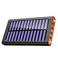 TSSIBE モバイルバッテリー ソーラーチャージャー