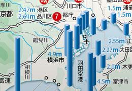 間近の津波 災害大国 迫る危機