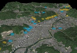 広島土石流 土砂災害があった主な地域