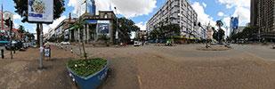 ケニア・ナイロビ市街