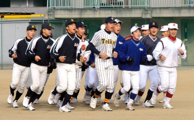 【茨城新聞】高校野球 県南選抜大会第1日
