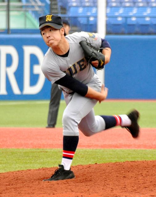 オリ佐藤世那の弟令央、打者1人四球で降板 仙台育英