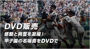 DVD販売感動と興奮を凝縮!甲子園の名場面をDVDで