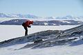 ここが氷河で覆われた時代はいつか、石から気候変動も探ることができる