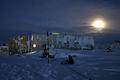昭和基地の冬、太陽が1日昇らない「極夜」は1カ月半続く
