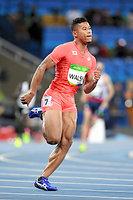 男子400メートル予選で敗退したウォルシュ・ジュリアン=諫山卓弥撮影