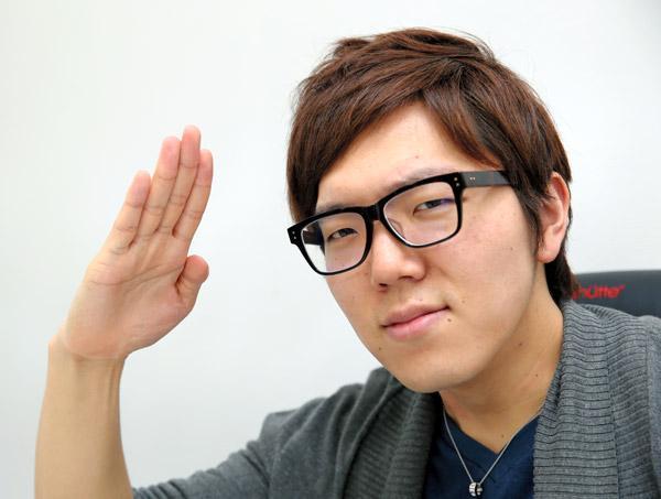 ユーチューバー・HIKAKINさん=嶋田達也撮影