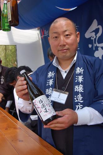 写真:普段は、飛行機のファーストクラスでしか飲むことができない種類の日本酒も試すことができるそう