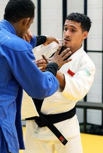 写真:イエメン代表のアリ・フスロフ選手=樫山晃生撮影