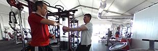 2月4日 選手村トレーニング室