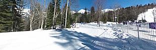 2月13日 クロスカントリースキー競技場